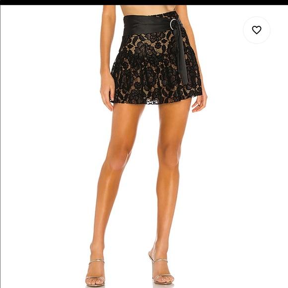 MAJORELLE Dresses & Skirts - Amara Mini Skirt in Black from majorelle